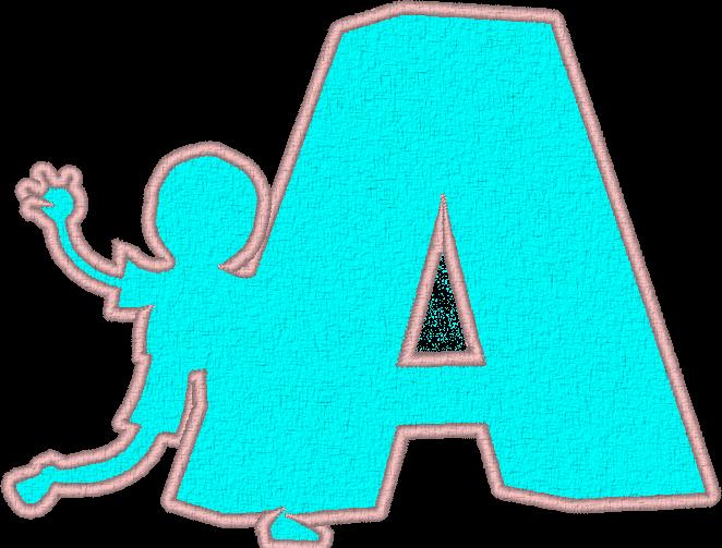 ABC appliqué garçons et filles: la lettre Z