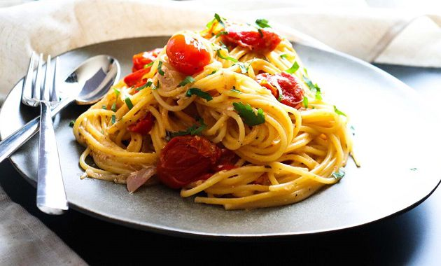 Baked Feta Pasta  (Italie)