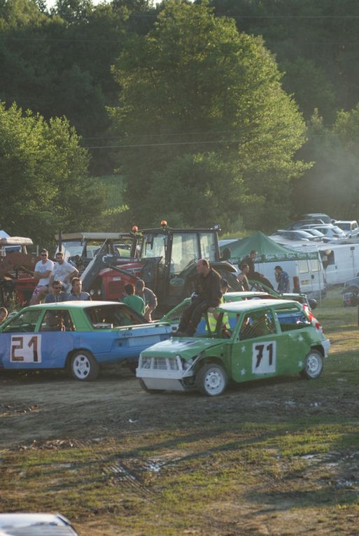 Soirée du 25 juin 2011 à Romagnieu, organisée par le Fun-Car du Dauphiné