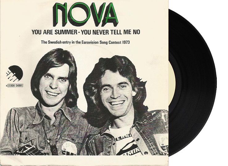 "5th - Sweden - The Nova & The Dolls ""You're Summer"" (94 points)"