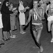 JO 1960 : à Rome, l'Éthiopien Abebe Bikila triomphe au marathon - JeuneAfrique.com