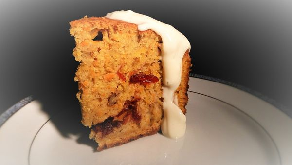 Carrot cake made in USA