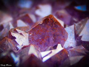 """Amethyst """"Chocolat"""" (Hematoide) from Blue Points Mine (formerly Diamond Willow Mine), Pearl, near Thunder Bay, Ontario, Canada (size: Cabinet)"""