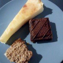 Brownie chocolat spéculos