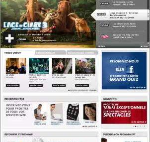 Voici enfin le nouveau site Canal+/Canalsat Réunion
