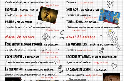 Maizières-les-Metz Festival Jeune Public des Arts Vivants La Marelle fait sa récré 2020 du 19 au 22 octobre