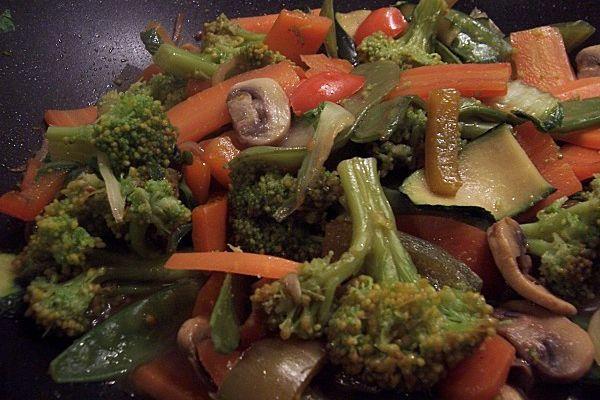 Sa recette de petits légumes favorite…