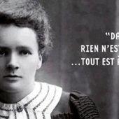 Marie Curie - NOTREBLOGDEFLE.COM