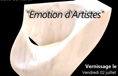 "Exposition ""Emotion d'artistes"""