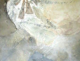 """TERRA DE AGUA ILUMINADA"" Peinture&Matières...Volumes&Lumière"