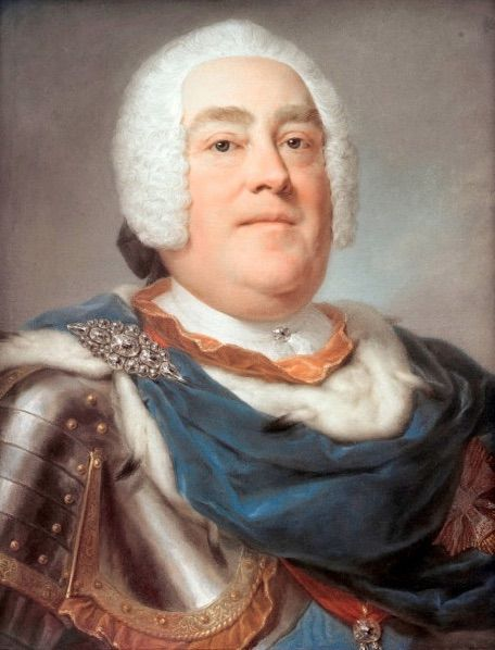 Portrait d'Auguste III (1745).