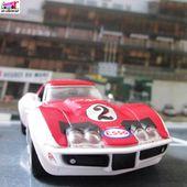 CHEVROLET CORVETTE LE MANS 1971 PUB CIGARETTES CRAVEN A SERIE LIMITEE VITESSE - car-collector.net