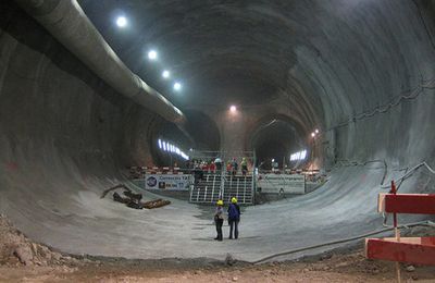 The Gotthard Base Tunnel (GBT) : The Longest Tunnel in The World scheduled for ... 2016