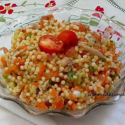 Salade de petits plombs