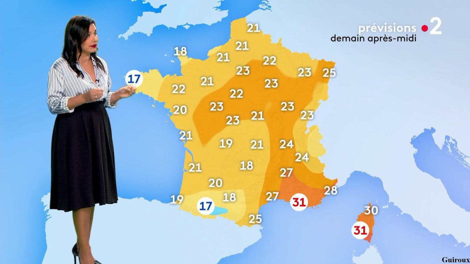 Anaïs Baydemir 30/07/2021 Journaux météo du soir