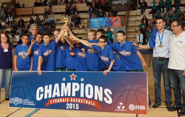 Les U13 de l'ALVP Basket champions de Régionale B