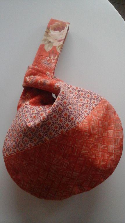 Japanese Knot Bag aux couleurs d'automne.