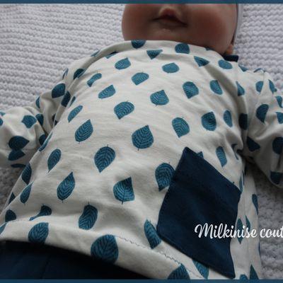 Tee shirt manches longues (Katia Fabrics) - 6 mois