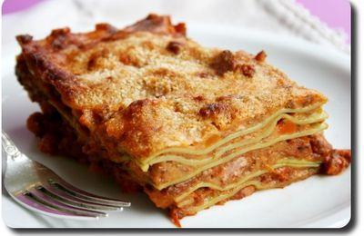 Lasagne à la Bolognaise (La Vraie Lasagne de Bologne)