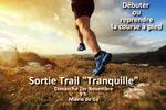 """Sortie Trail """"Tranquille"""" Dimanche 1er Novembre 2020"""