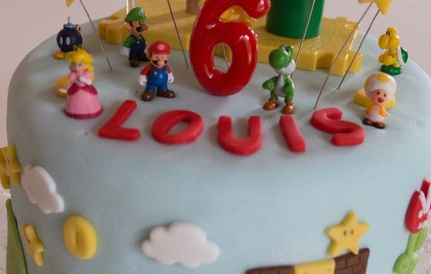 Gâteau Super Mario Bros!