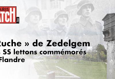'Ruche' de Zedelgem : Des SS lettons commémorés en Flandre