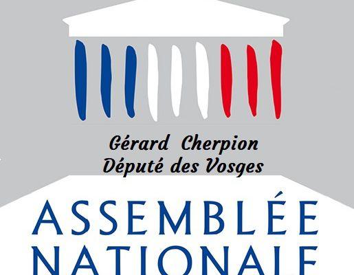 Monsieur le député Gérard Cherpion annule ses voeux 2019 ...