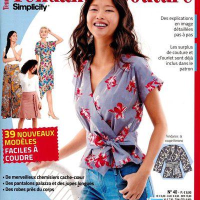 Magazines de janvier 2021: Tendances Couture 40
