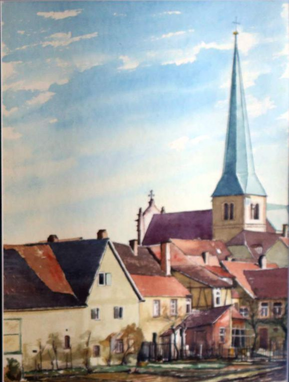 Koppesland/Mainlände Nähe Mainfrankensäle (1975 und 1982)