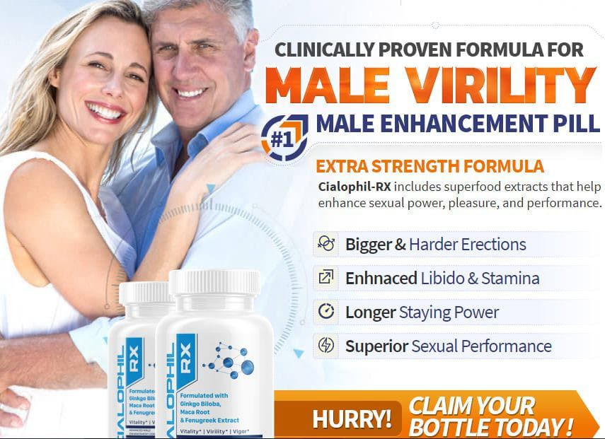 What Are Highlights Of Cialophil RX Male Enhancement?