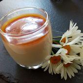 Panna cotta légère au lait concentré non sucré - Mes Meilleures Recettes Faciles