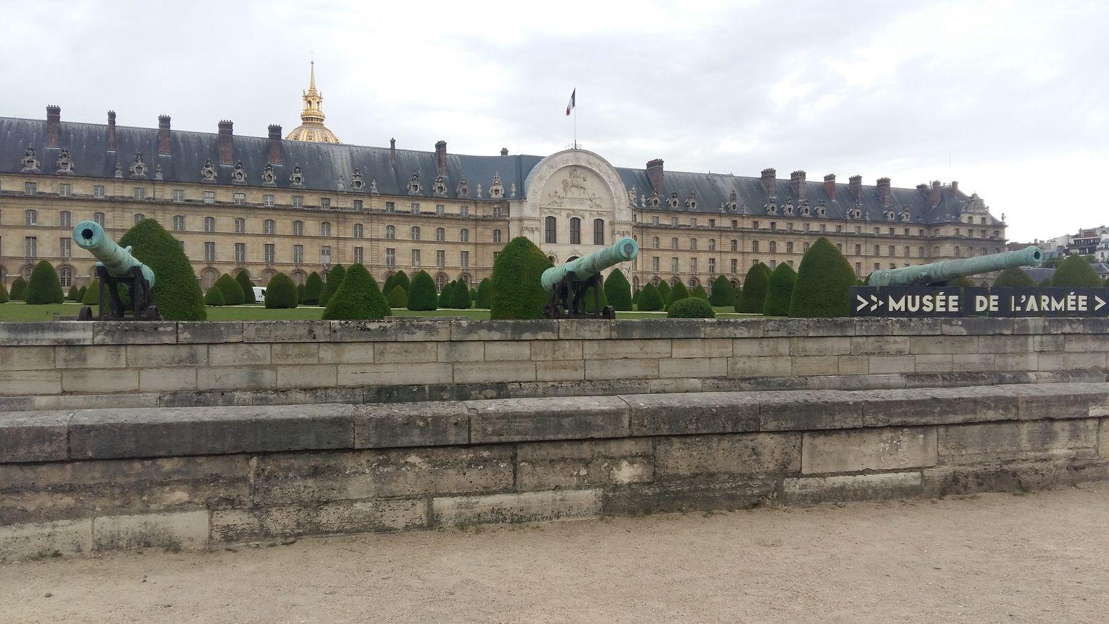 """Visite virtuelle """"NAPOLEON n'est plus"""" au musée de l'Armée"""