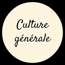 VOTRE QUIZZ DE CULTURE GENERAL