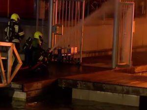 VIDEO - Hier, un incendie a ravagé une marina fluviale aux Pays-Bas