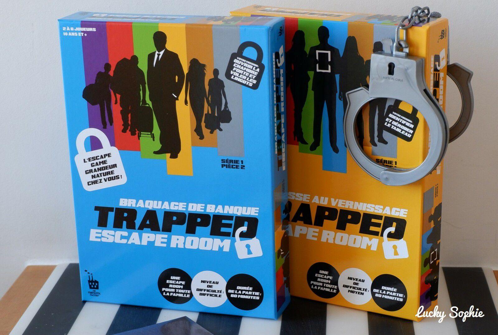 Escape room Trapped : super escape game à la maison !