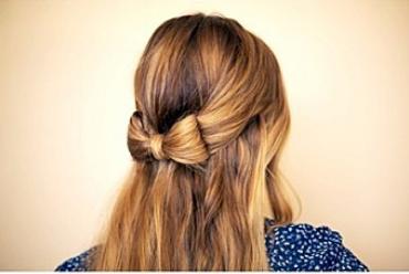 Cómo hacer un lazo con tu pelo