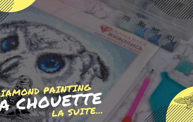 "Diamond Painting, ""La Chouette""..."