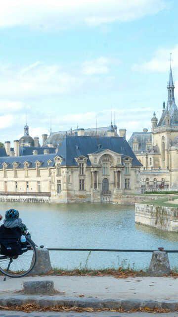 Le château à Chantilly