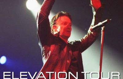 U2 -Elevation Tour -01/12/2001 -Tampa  USA - Ice Palace