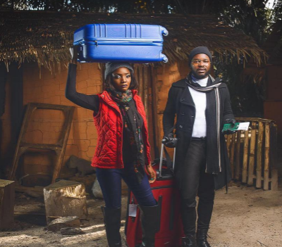 Falz & Simi Definitely Have 'Chemistry' As They Reveal New Project In Sensual Photo