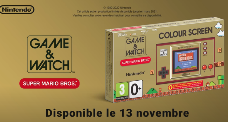 Le retour (du retour) du Game & Watch Super Mario