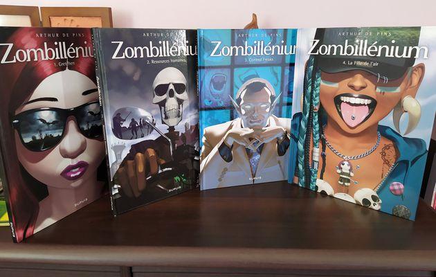 Zombillénium, tomes 1 à 4