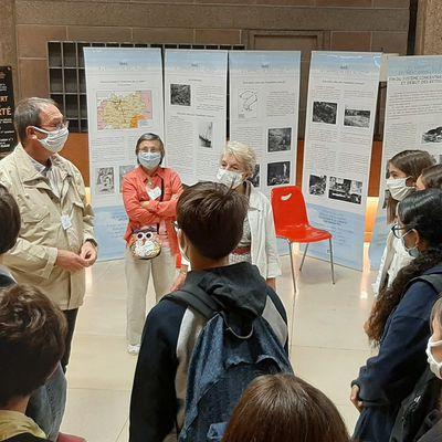 Visite du CESE au Palais d'Iéna  et de l'exposition le retour des déportés