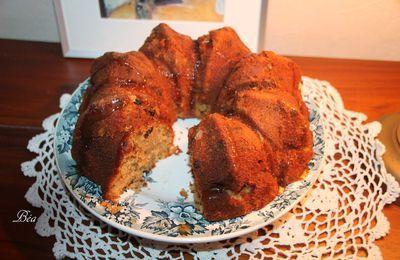 Bundt cake châtaigne, figues et noisettes
