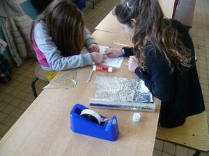 Les élèves du degré supérieur ont fabriqué un joli électro sur la Belgique et les pays européens à offrir aux élèves marseillais.