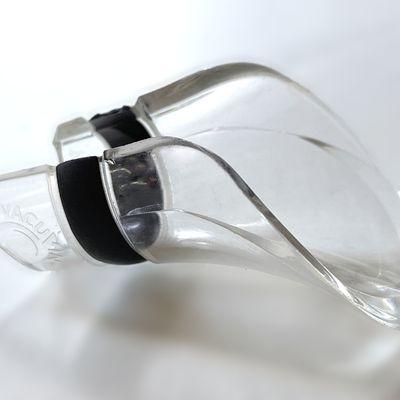 Bec verseur stop-gouttes transparent pour bouteille de vin