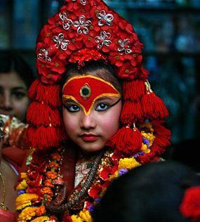 Kumari, la jeune fille sacrée de Kathmandou