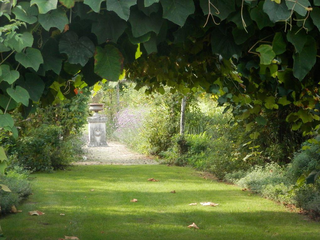 Jardin de Roquelin en automne