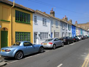 Une rue de Brighton