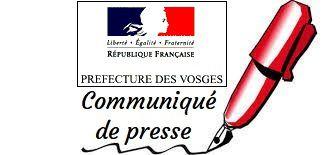 Préfecture des Vosges : rappel des mesures territoriales de lutte contre la COVID-19 actuellement en vigueur dans les Vosges.